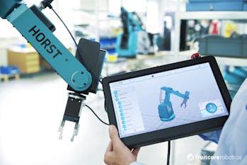 Intuitive Roboterprogrammierung horstFX