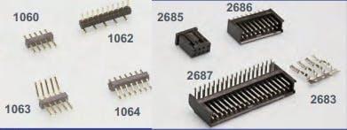Leiterplattensteckverbinder von CONECTRONICS