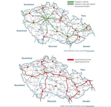 Verkehrsinfrastruktur Tschechien