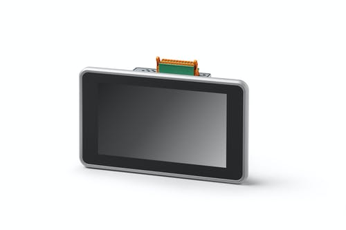 Raspberry Pi Industrie front mit Touch-Panel