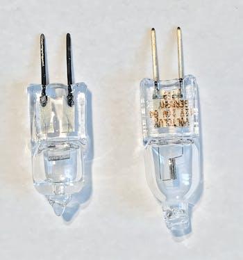 Elektrischer Leiter mit Korrosion