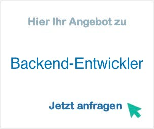 Backend-Entwickler