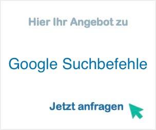 Google_Suchbefehle