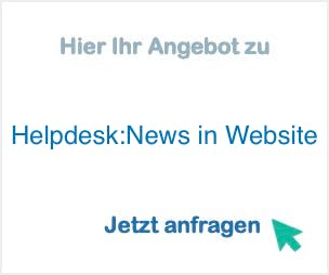 Helpdesk:News in Website