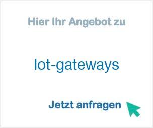 Anbieter Hersteller Iot-gateways