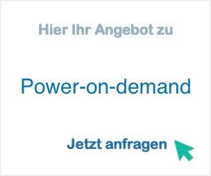Anbieter Hersteller Power-on-demand