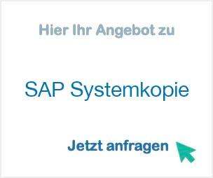 SAP Systemkopie