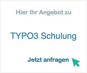 TYPO3 Schulung