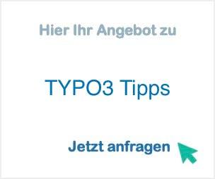 TYPO3 Tipps
