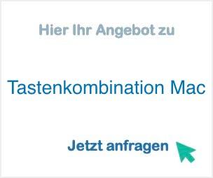 Tastenkombination_Mac