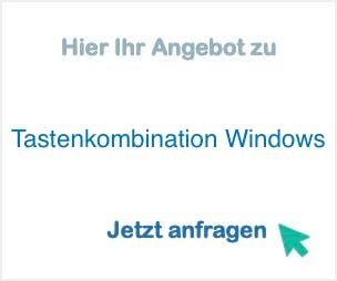 Tastenkombination Windows