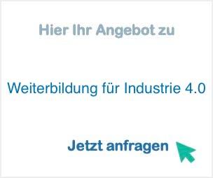 Weiterbildung für Industrie 4.0
