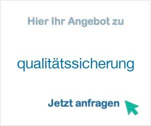 Anbieter Hersteller qualitätssicherung