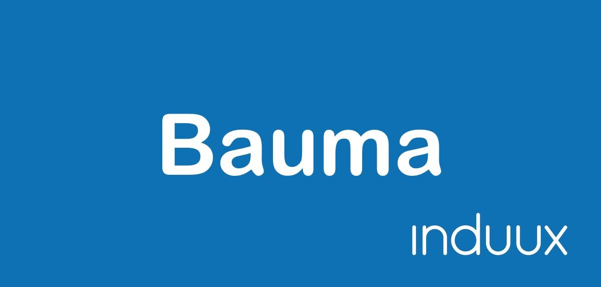 Bauma - Die Leitmesse für Baumaschinen