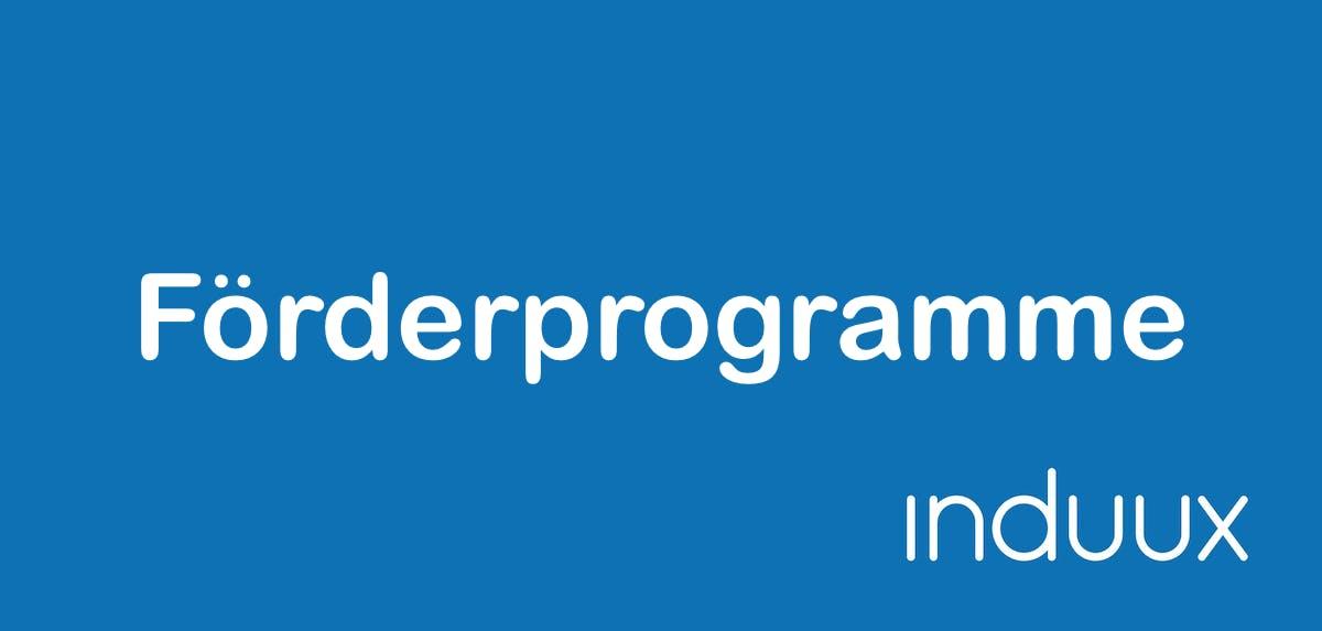 Förderprogramme: Übersicht, Nutzen, Umsetzung