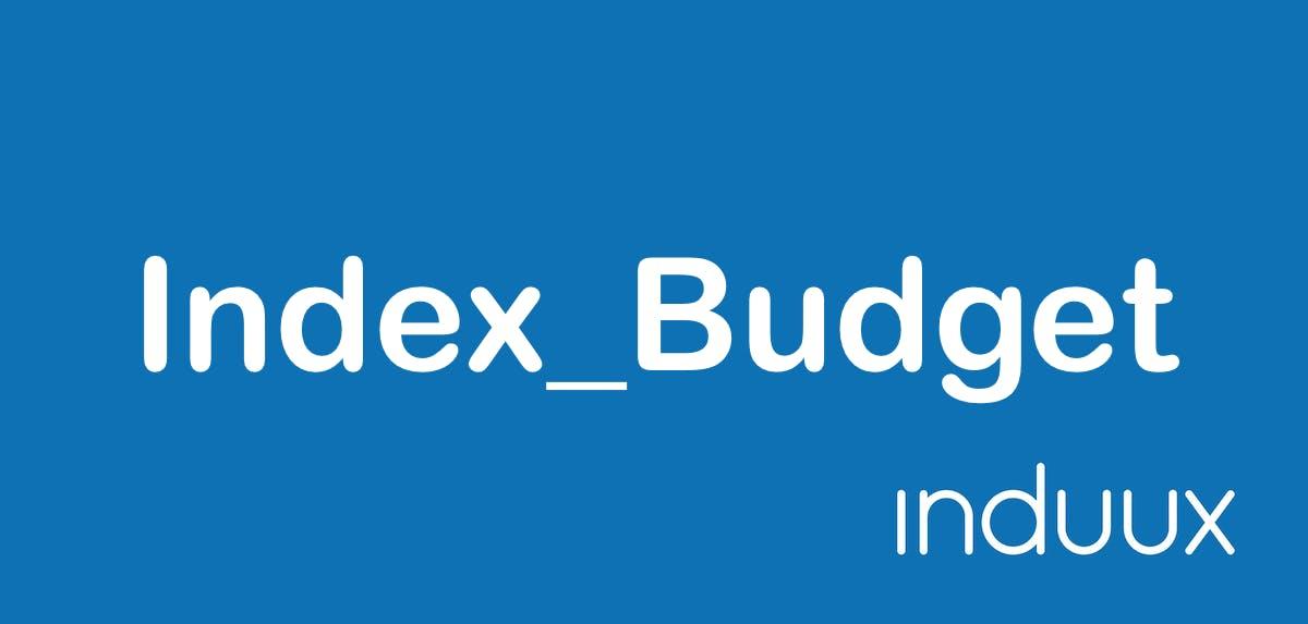 Index Budget