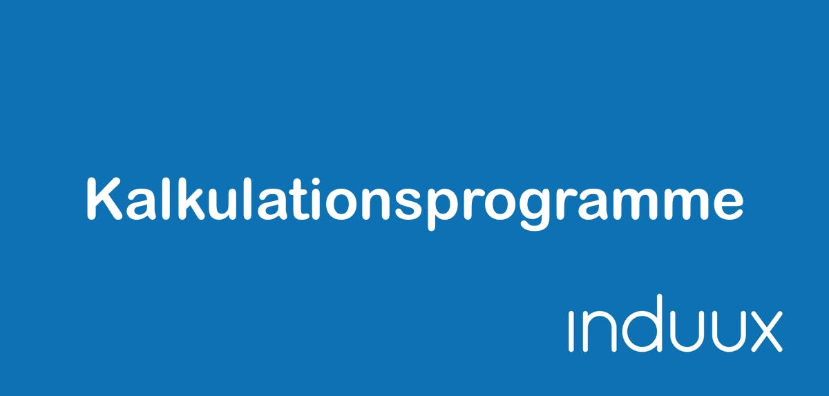 Kalkulationsprogramm - Kalkulationssoftware