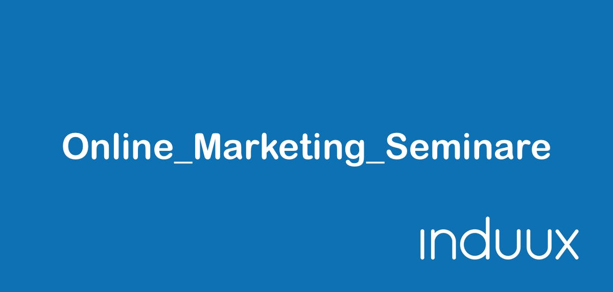 Online Marketing Seminare