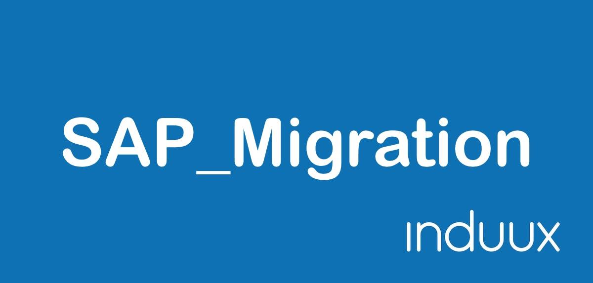 SAP Migration