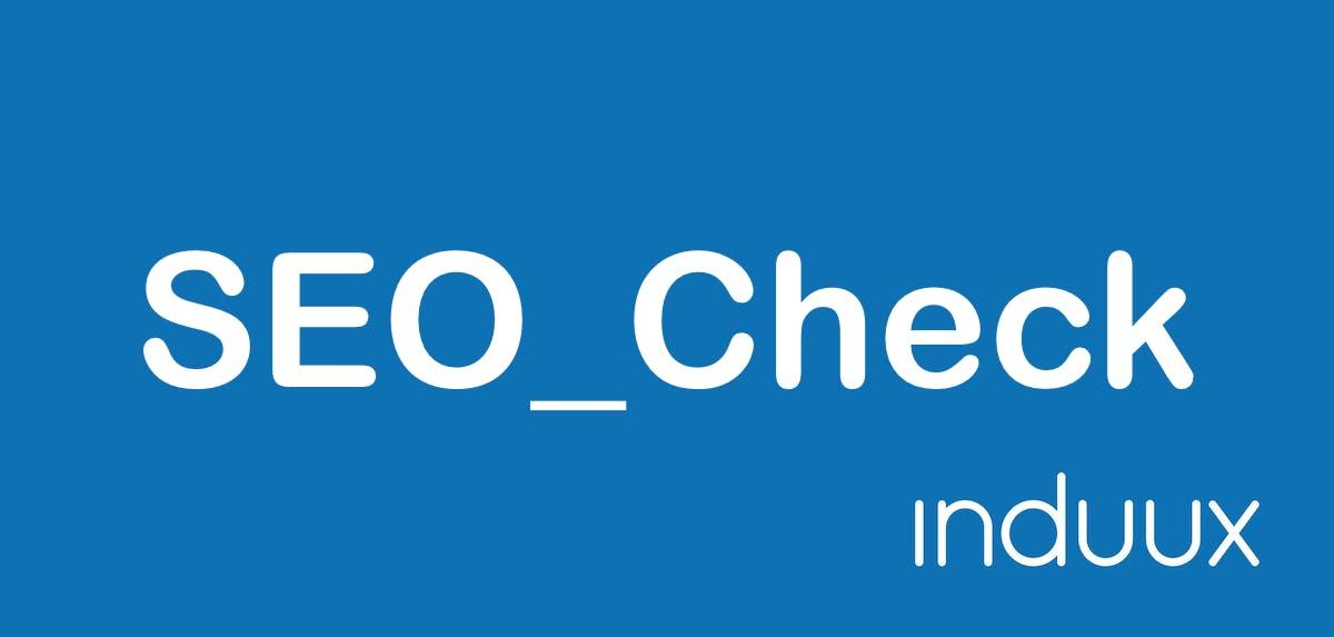 SEO Check